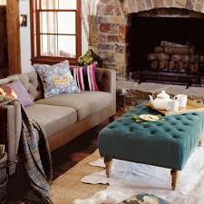 marcelle ottoman world market beryl green marcelle tufted ottoman world market interiors