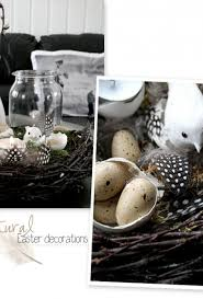 Natural Easter Table Decorations by Easter Stylizimo