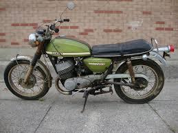 suzuki samurai motorcycle pair of scare 1969 u0026 1970 suzuki t500 titans