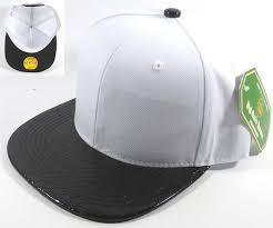 faux blank alligator skin snapback hats wholesale white black