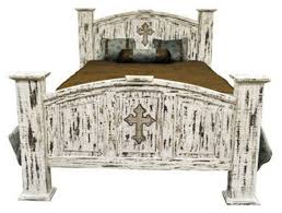 White Washed Bedroom Furniture by Dallas Designer Furniture White Scraped Rustic Bedroom Set With