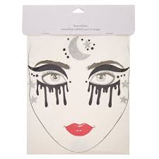 hi res halloween images dark witch halloween face tattoos claire u0027s