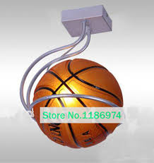 Sports Ceiling Light Ceiling L Basketball Simple Bar Hanging Light Children
