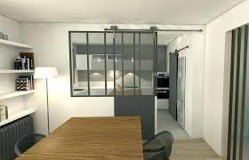 separation en verre cuisine salon separation cuisine salon meuble separation cuisine salon meuble