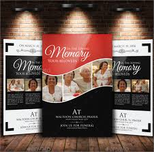 Cheap Funeral Programs 11 Funeral Flyer Templates Free Psd Eps Ai Format Download