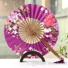 held fans for wedding japanese paper fans woman handmade folding held fans