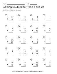 the 25 best doubles worksheet ideas on pinterest math doubles