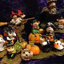 Miniature Halloween Ornaments by Jack O Lantern Pumpkin Pendant Charm Halloween Holiday 14k Gold