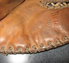 Hutch Baseball Gloves Lot Detail 1950s 1st Base Gloves Hutch U0026 Sporting Goods Lot Of 2