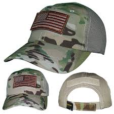 Military Flag Patch Ninelineapparel Velcro W Us Flag Patch Mesh Back Hat 24 99