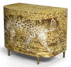 piero fornasetti 1913 1988 leopard chest of drawers circa