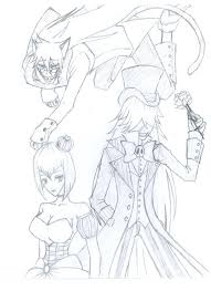 undertaker coloring pages ciel in wonderland grell undertaker madam red by rhodart on