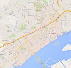 Google Map Pennsylvania Usa by Chester Pennsylvania Map