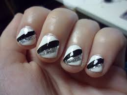 20 silver and white nail designs gorgeous wedding bridal nail art