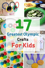 17 greatest olympic crafts for kids hobbycraft blog