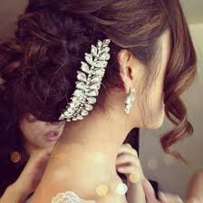 prom hair accessories jewels hair bun wedding hair accessory wedding hairstyles
