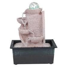 design zimmerbrunnen zimmerbrunnen aus kunststein in 6 verschiedenen designs