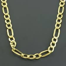 figaro necklace men images 14k gold figaro necklace for men 24 quot only 1 295 00 mens necklaces
