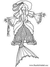 fairy mermaid coloring pages mermaid training a seahorse coloring page coloring pages