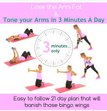 30 minutes exercises to lose arm fat in 1 week at home no