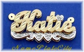 name plates jewelry sandi pointe library of collections