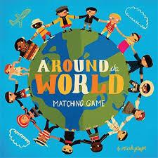 around the world matching chronicle books