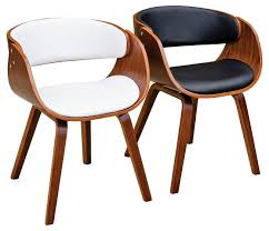 Style Dining Chairs Pair Retro Eames Style Dining Chair Mulberry Moon
