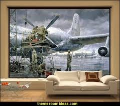 airplane bedroom decor marvellous design aviation wall decor decorating theme bedrooms