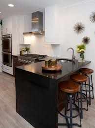 amazing modern kitchen bar table with wooden material also cabinet