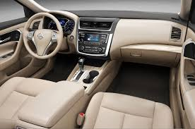 nissan rogue cloth interior 2016 nissan altima first look review motor trend