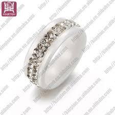 Wedding Rings For Girls by Fashion Jewellery White Ceramic Diamond Rings For Girls Buy