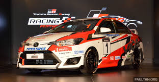 toyota vios challenge launched in malaysia one make race series
