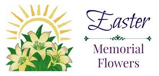 memorial flowers easter memorial flowers st joan of arc catholic church