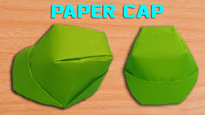 how to make a paper cap diy origami hat making simple and easy