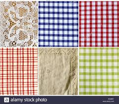 Kitchen Background Collage Of Different Kinds Of Fabric Kitchen Background Stock