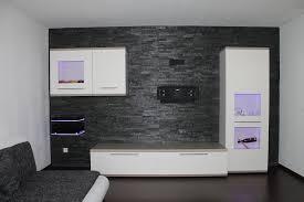 echte steinwand im wohnzimmer 2 stunning steinwand wohnzimmer schwarz ideas house design ideas