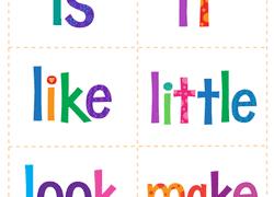 kindergarten sight words worksheets u0026 free printables education com