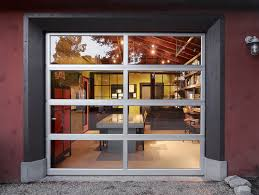 awesome glass garage doors kitchen with simple glass garage door