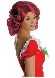 halloween costume wigs strawberry sweetie woman costume 67 99 the costume land