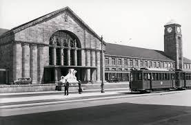 Basel Bad Bf Landesarchiv Baden Württemberg Bahnhof Basel Glak