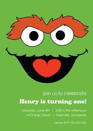 best 25 sesame street birthday invitations ideas on pinterest