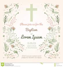 Baptism Invitation Cards Baptism Invitation Royalty Free Stock Image Image 31647686
