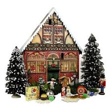 lighted santa s workshop advent calendar top 12 wooden christmas advent calendars you ll love