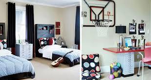 Kids Sharing A Room Kids Rooms Basketball Hoop And Room - Boys shared bedroom ideas