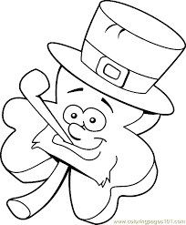 st patricks day coloring page 17 coloring page free holidays