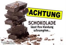 schokolade sprüche achtung schokolade spruch sprüche suche