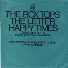 45cat the box tops the letter happy times cbs germany 3071