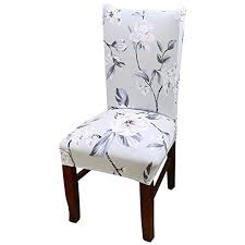 Dining Chair Seat Cover Toogoo R Removable Elastic Stretch Slipcovers Short Dining Room