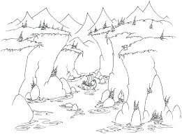 coloring pages monkeys sailing into a fjord bluebison net
