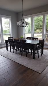 Solid Walnut Dining Chairs by Beautiful Solid Wood Hand Made Baluster Turned Leg Dining Table In